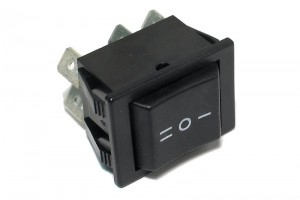 ROCKER SWITCH 2-POLE ON/OFF/ON 16A 250VAC