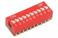 DIP SWITCH 10