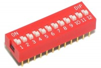 DIP SWITCH 12