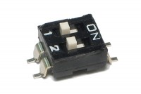 DIP SWITCH 2-POLE SMD