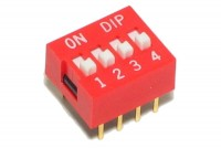 DIP SWITCH 4-POLE
