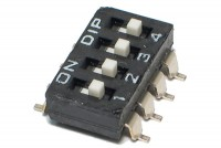 DIP SWITCH 4-POLE SMD