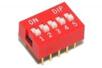 DIP-KYTKIN 5-NAPAINEN