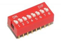 DIP-KYTKIN 8-NAPAINEN