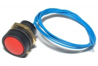 PUSH-BUTTON SWITCH IP67 0,1A 50VDC RED