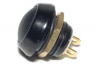 PUSH-BUTTON SWITCH IP67 0,4A 32VAC BLACK