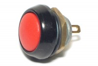 PUSH-BUTTON SWITCH IP67 0,4A 32VAC RED