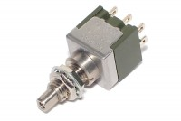 LOCKABLE PUSH-BUTTON SWITCH DPDT