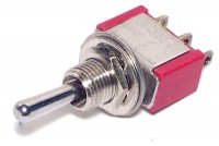 1-POLE SMALL TOGGLE SWITCH ON/OFF/(ON)