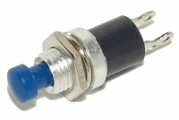 PUSH-BUTTON SWITCH 0,5A 24V BLUE