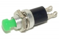 PUSH-BUTTON SWITCH 0,5A 24V GREEN