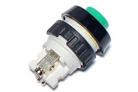 PUSH-BUTTON SWITCH 0,7A 250VAC GREEN