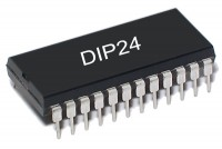 CMOS-LOGIC IC DEC 4514 DIP24