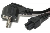 POWER CORD IEC C5 (IBM) BLACK 3m