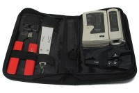 NETWORKING TOOLSET WITH CABLE TESTER