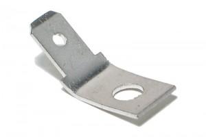 PUSH-ON 6,3mm MALE Ø4mm HOLE