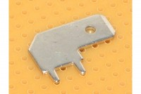 TERMINAL FLAT PUSH-ON 6,3mm MALE PCB ANGLE