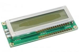 LCD-NÄYTTÖ 2x16 LED-TAUSTAVALOLLA