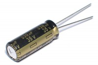LOW ESR ELECTROLYTIC CAPACITOR 330UF 35V 8x21mm