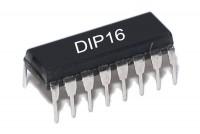 CMOS-LOGIC IC 7SEG 4543 DIP16
