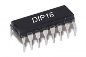 CMOS-LOGIC IC DEC 4556 DIP16