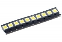 SMD LED P-LCC-2 WHITE 1800mcd