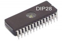 EPROM MEMORY IC 8Kx8 250ns DIP28 (used)