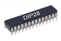SRAM CACHE MEMORY IC 32Kx8 150ns DIP28