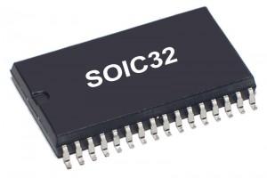 SRAM MEMORY IC 128Kx8 85ns SOP32