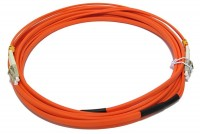 MULTIMODE LC-LC DUPLEX PATCHCORD TWIN 5m
