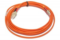 MULTIMODE SC-LC DUPLEX PATCHCORD TWIN 7m