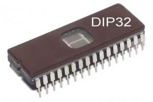 EPROM MUISTIPIIRI 1Mx8 100ns DIP32