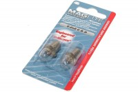 Maglite White Star 6-Cell C&D Krypton SPARE BULBS 2pcs