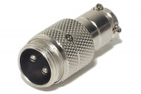 MIC CONNECTOR 2-PIN MALE