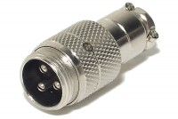 MIC CONNECTOR 3-PIN MALE