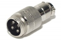 MIC CONNECTOR 4-PIN MALE
