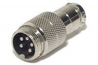 MIC CONNECTOR 5-PIN MALE