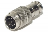 MIC CONNECTOR 7-PIN MALE