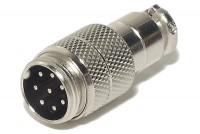 MIC CONNECTOR 8-PIN MALE
