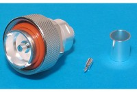 7/16 COAXIAL RF CONNECTOR MALE CRIMP FOR RG213 CABLE
