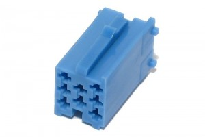 Mini-ISO CAR RADIO CONNECTOR BLUE