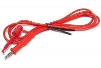 TEST LEAD WITH HOOK RED 1,3m