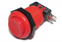 LARGE PUSH BUTTON MICROSWITCH SPDT RED