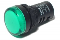 LED INDICATOR LIGHT Ø22mm 230V GREEN