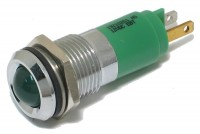 10mm LED INDICATOR LIGHT 12V GREEN