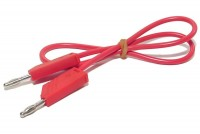 4mm TEST LEAD RED 0,5m