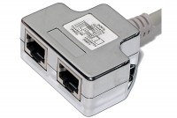 RJ45 ETHERNET CABLE SPLITTER