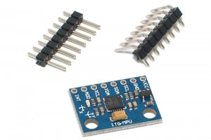 TRI-AXIS GYRO AND ACCELOMETER BREAKOUT BOARD GY-521 (I2C)