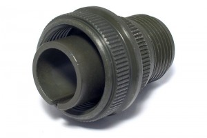 MIL-CABLE PLUG 22-SIZED SOLID SHELL