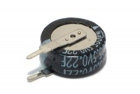 MEMORY BACKUP CAPACITOR 0,22F 5,5V (vertical)